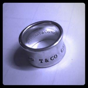 Tiffany 1837 Wide Ring